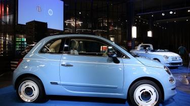 Fiat 500 Spiaggina '58 - side