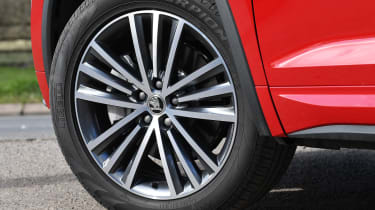 skoda kodiaq l&k alloy wheel