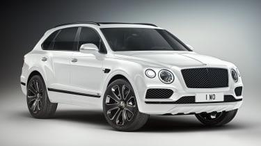 Bentley Bentayga V8 Design Series - white