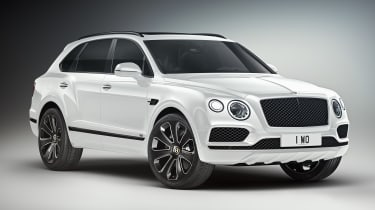 Bentley Bentayga V8 Design Series - white