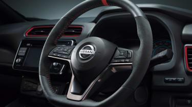 Nissan Leaf Nismo - steering wheel