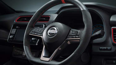 Nissan Leaf Nismo - steering wheel