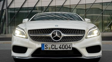 New Mercedes CLS 2014 nose