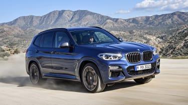 BMW X3 - off-road