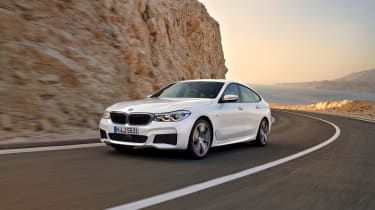 BMW 6 Series Gran Turismo - front cornering