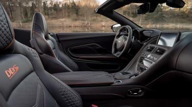 Aston Martin DBS Superleggera Volante - interior