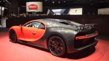 Bugatti Chiron Sport - Geneva rear