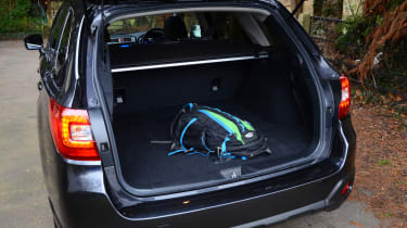Long-term test review: Subaru Outback boot