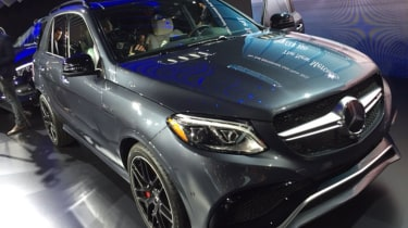 Mercedes GLE revealed in New York