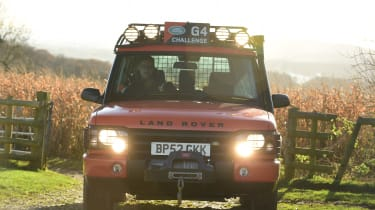 Land Rover Discovery Mk2 - full front