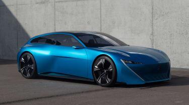 Peugeot Instinct Concept - front/side