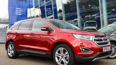 Long-term test review: Ford Edge - front quarter