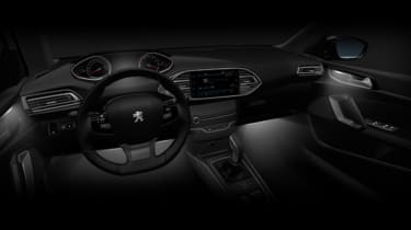 Peugeot 308 2018 facelift leak interior