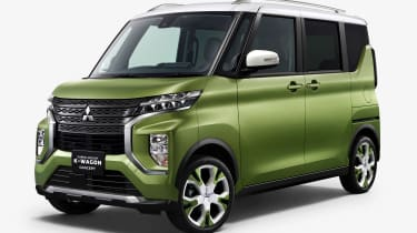 Mitsubishi Super Height K-Wagon concept - front static