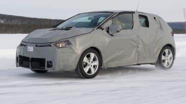 Renault Clio prototype front tracking