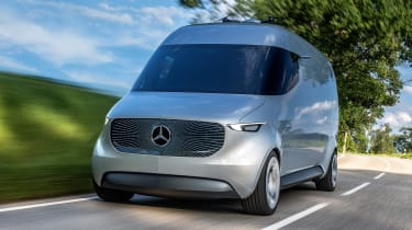 Mercedes Vision Van - official front tracking