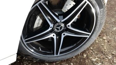 Mercedes E 300 de - long-term review - wheels