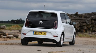 Volkswagen up! - rear cornering