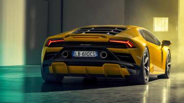 Lamborghini Huracan EVO RWD - rear 3/4 static