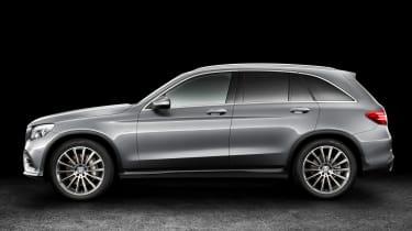 Mercedes GLC static side