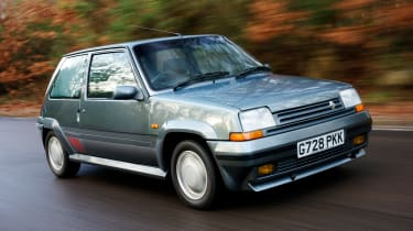 Upon launch in 1985, the feelgood Renault 5 GT Turbo packed a bigger punch than its Peugeot rival. Whisper it, but it might have been the better drive, too.
