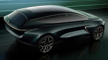 Lagonda All-Terrain concept - rear above