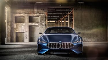 BMW Concept 8 Series - full front studio