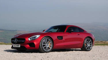 Mercedes-AMG GT S - static