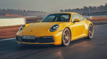 Porsche 911 - front track