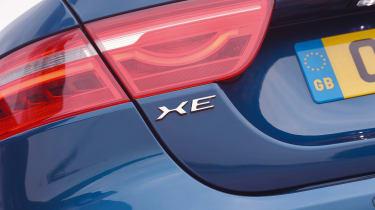 Jaguar XE Long term test - rear detail