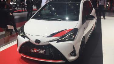 Toyota Yaris GRMN hot hatch 2017 - Geneva front