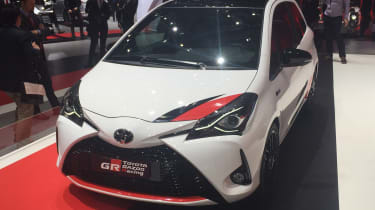 Toyota Yaris GRMN hot hatch 2017 - Geneva front