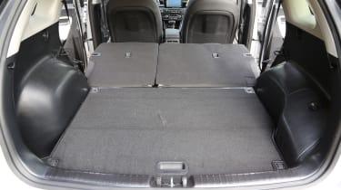 Kia Niro 2016 review - boot space seats down