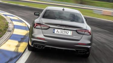 Maserati Quattroporte Trofeo - full rear