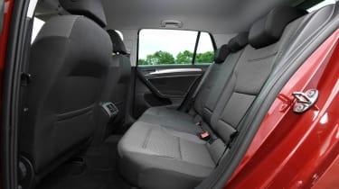 VW Golf rear seats