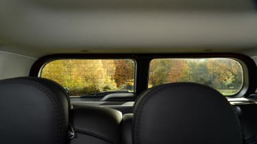 MINI Clubman long term - rear window