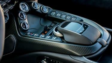 Aston Martin Vantage - interior detail