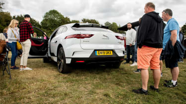 Jaguar I-Pace long termer - second report - rear 3/4 static