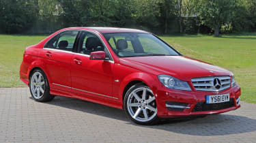 Used Mercedes C-Class - front