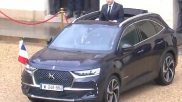 DS 7 Crossback Macron roof