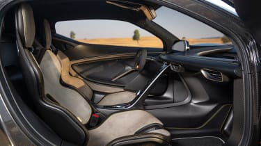 Lotus Evija interior