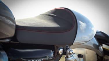 Triumph Thruxton R review - seating