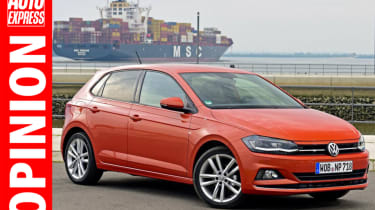 New 2017 VW Polo - front