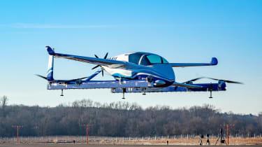 Boeing PAV - hovering