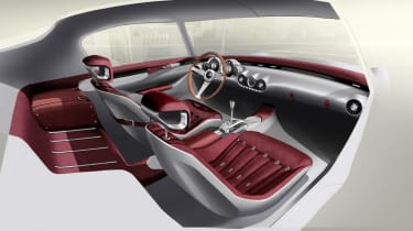 GTO Engineering Project Moderna - oxblood leather interior