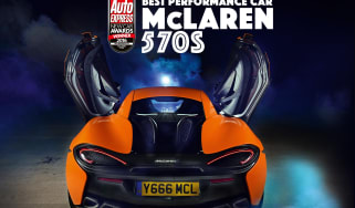 New Car Awards 2016: Performance Car of the Year - McLaren 570S