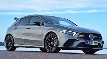 mercedes-amg a35 static front quarter