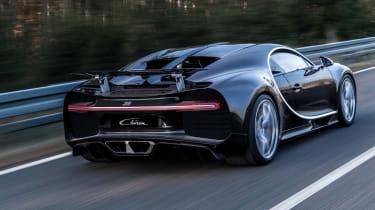 Bugatti Chiron 2016 - Dynamic Rear Black