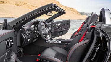 Mercedes-AMG SLC 43 seats