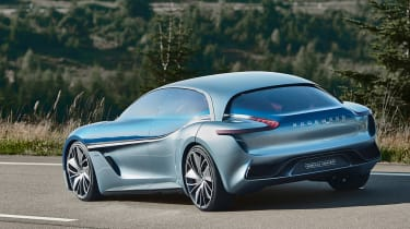 Borgward Isabella concept - rear action